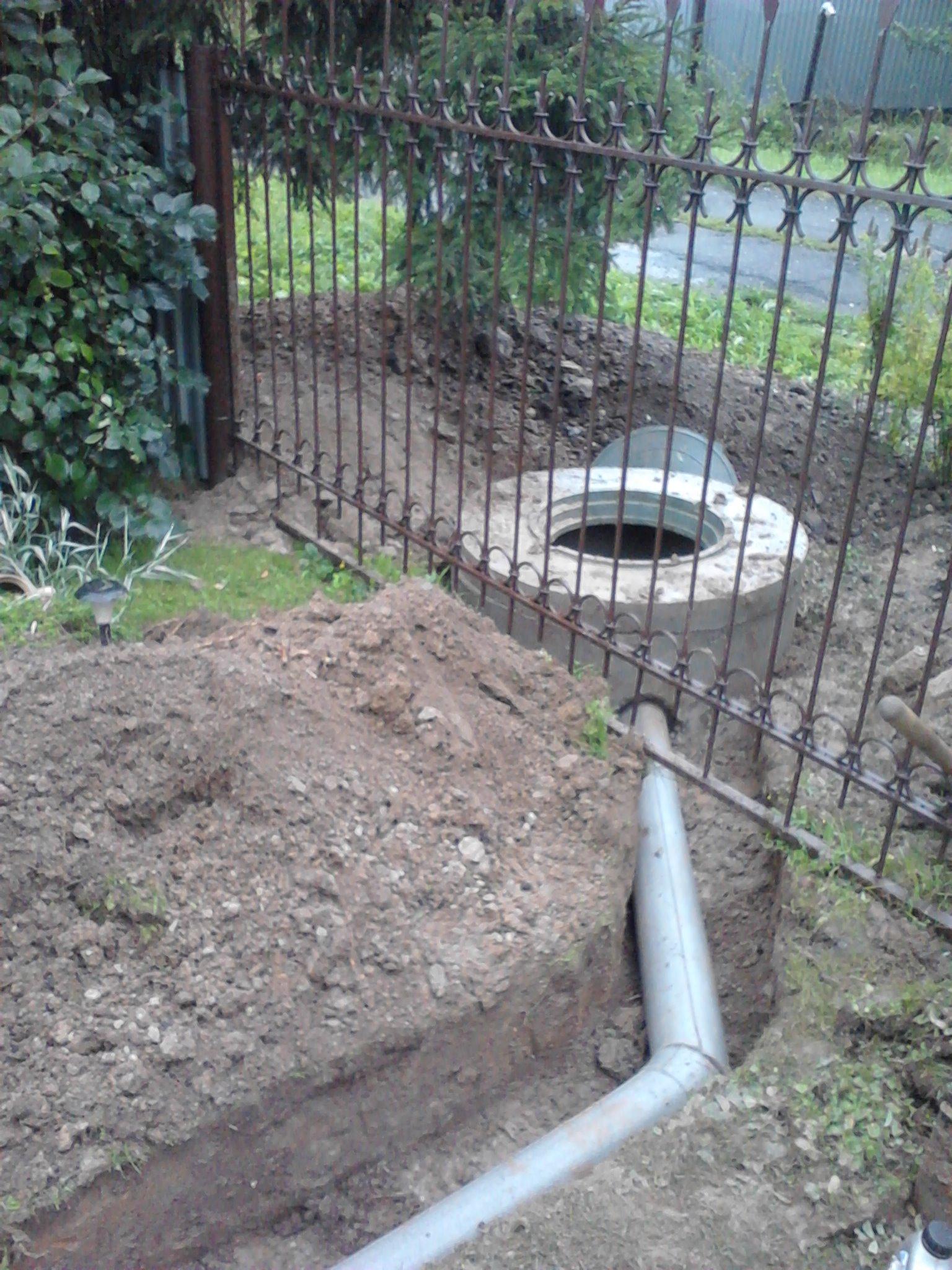Обустройство канализации на даче своими руками